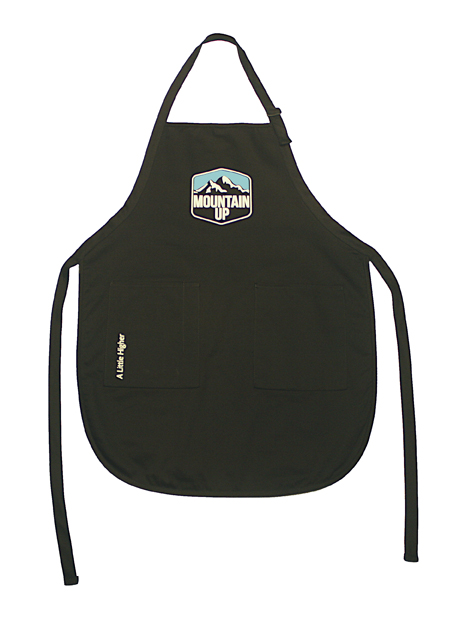 Mountain Up BBQ Apron