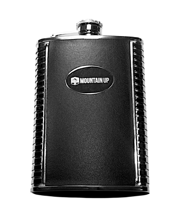 Mountain Up Deluxe Flask