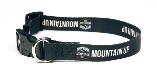 Mountain Up Dog Collar (closed)