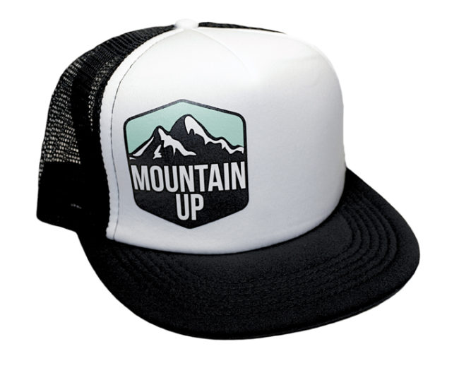 Mountain Up Trucker Hat
