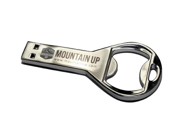 Mountain Up USB Opener