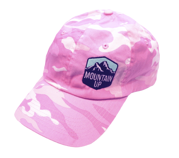Mountain Up Women's Pink Camo Hat
