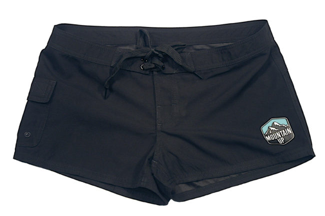 Women's Shorty Surf Shorts Front
